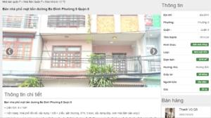 So sánh giá nhà phố khu Tạ Quang Bửu Quận 8